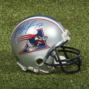 Mike Pringle Montreal Alouettes Autographed CFL Football Mini-Helmet