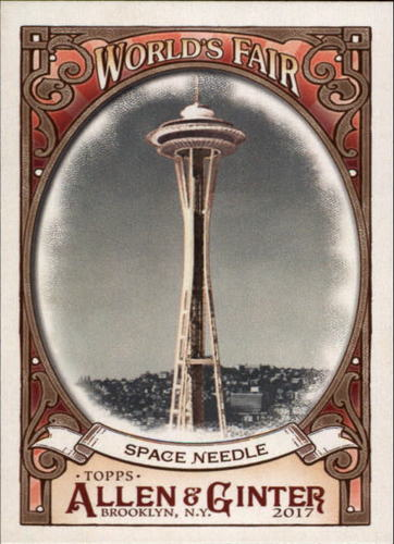 Photo of 2017 Topps Allen and Ginter World's Fair #WF11 Space Needle/Century 21 Exposition