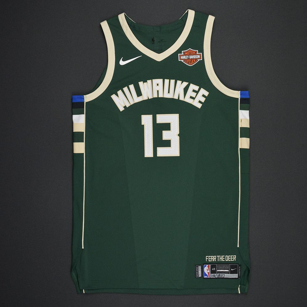 Malcolm Brogdon - Milwaukee Bucks - Kia NBA Tip-Off 2017 - Game-Worn Jersey