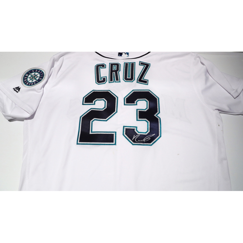 Compton Youth Academy Auction: Nelson Cruz Signed Jersey - Not Authenticated by MLB