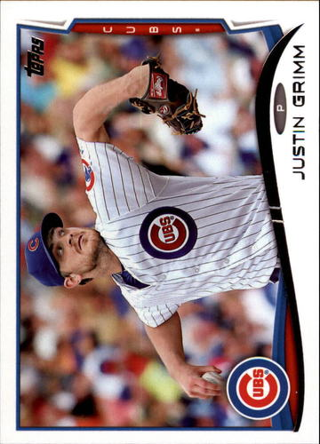 Photo of 2014 Topps Update #US14 Justin Grimm