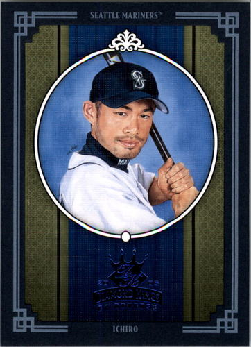 Photo of 2005 Diamond Kings Framed Blue #396 Ichiro Suzuki