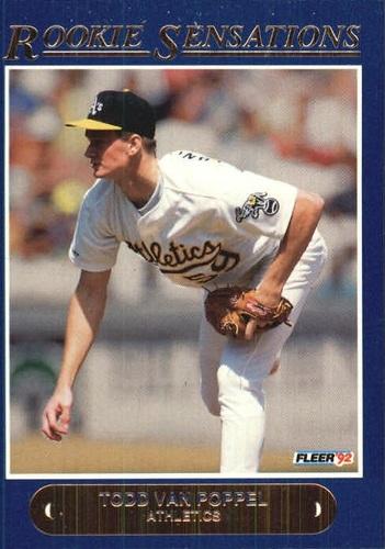 Photo of 1992 Fleer Rookie Sensations #2 Todd Van Poppel