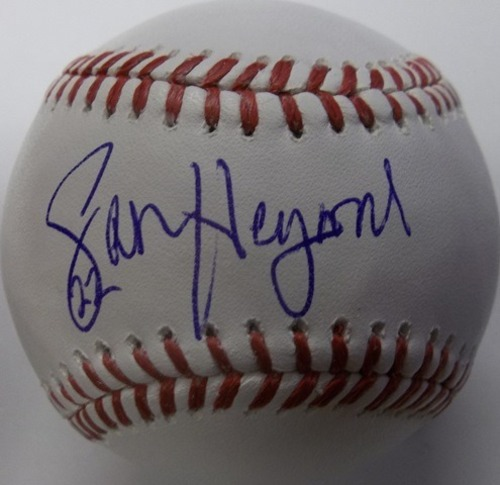 Photo of Jason Heyward Autographed Baseball