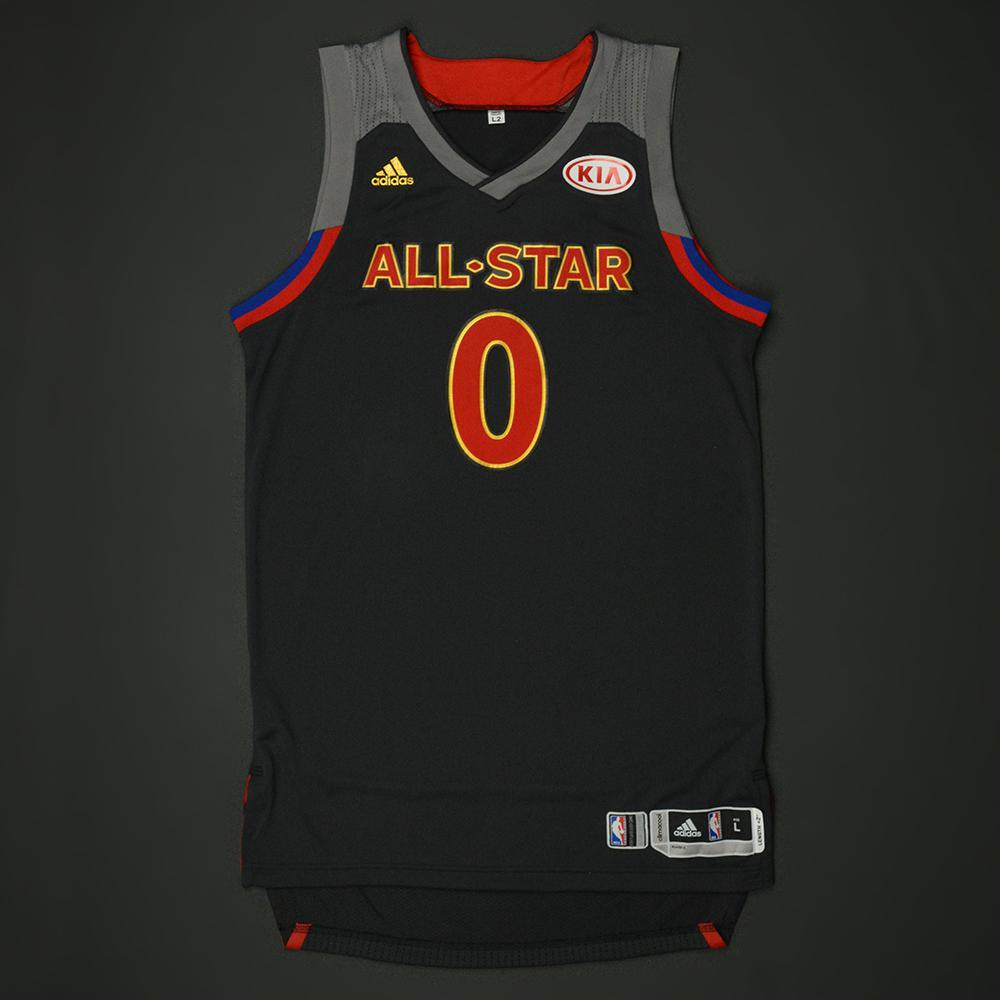 Russell Westbrook - 2017 NBA All-Star Game - Western Conference - Game-Worn Jersey - 1st Half Only