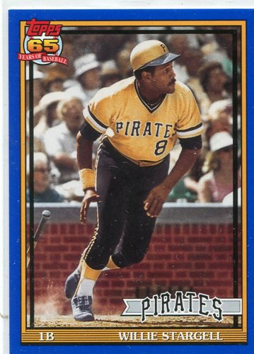 Photo of 2016 Topps Archives Blue #259 Willie Stargell