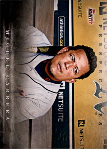Photo of 2017 Topps Bunt Perspectives #PMC Miguel Cabrera