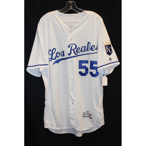 Photo of Team-Issued Jersey: Nate Karns (Size 48)