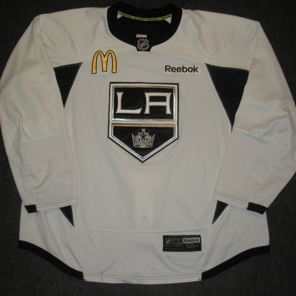 Dwight King - 2014 Stanley Cup Final - Los Angeles Kings - Practice-Worn Jersey