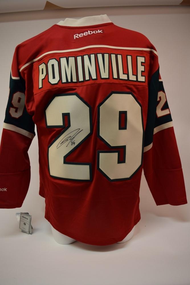 Chandail du Wild de Minnesota autographié par Jason Pominville | Jason Pominville autographed Minnesota Wild jersey
