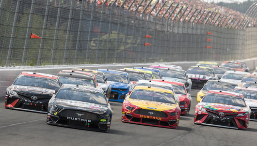 NASCAR DOUBLEHEADER EVENT WEEKEND AT POCONO RACEWAY - PACKAGE 1 OF 6