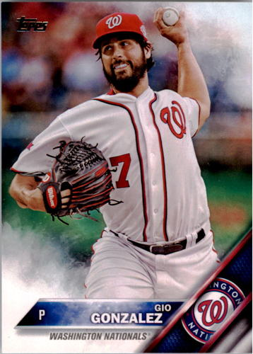 Photo of 2016 Topps #47 Gio Gonzalez