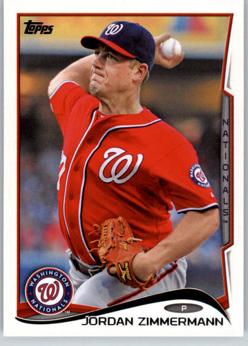 Photo of 2014 Topps #107 Jordan Zimmermann