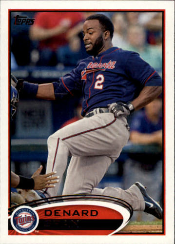 Photo of 2012 Topps #179 Denard Span