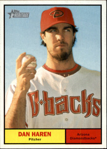 Photo of 2010 Topps Heritage #356 Dan Haren