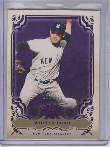 Photo of 2013 Topps Triple Threads Amethyst #55 Whitey Ford