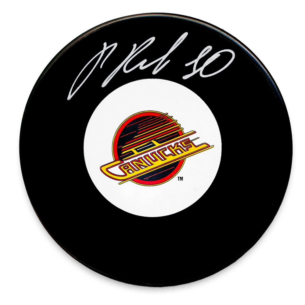 Pavel Bure Vancouver Canucks Autographed Puck