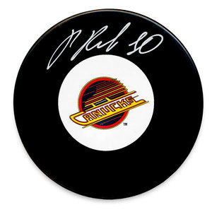 Pavel Bure Vancouver Canucks Autographed Puck
