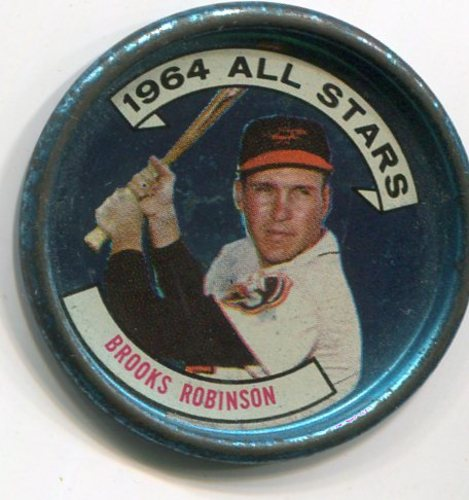 Photo of 1964 Topps Coins #125 Brooks Robinson AS