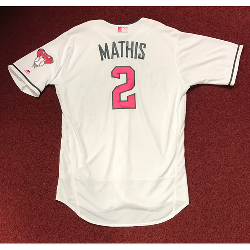Photo of Jeff Mathis Game-Used 2017 Mother's Day Jersey