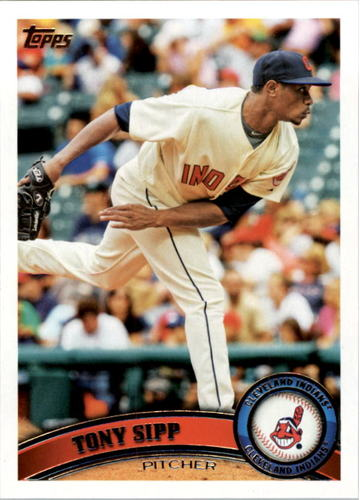 Photo of 2011 Topps #536 Tony Sipp Rookie Card -- Astros post-season