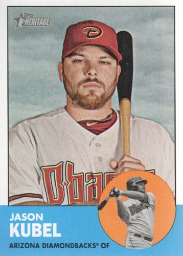 Photo of 2012 Topps Heritage #369 Jason Kubel
