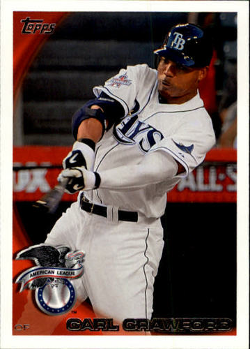Photo of 2010 Topps Update #US170 Carl Crawford
