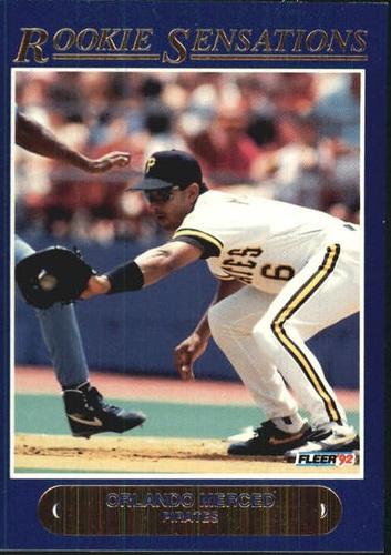 Photo of 1992 Fleer Rookie Sensations #3 Orlando Merced