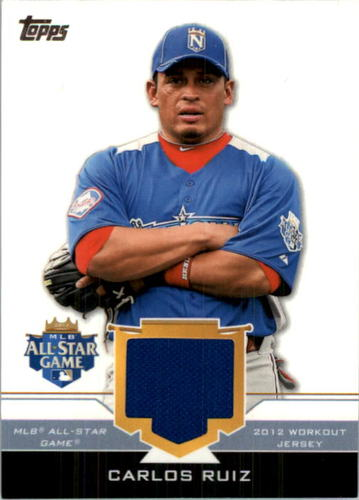 Photo of 2012 Topps Update All-Star Stitches #CR Carlos Ruiz