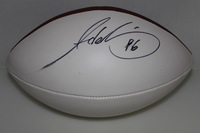 PATRIOTS - ADALIUS THOMAS SIGNED PANEL BALL (SLIGHT SMUDGE)