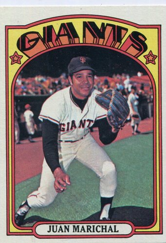 Photo of 1972 Topps #567 Juan Marichal Hall of Famer