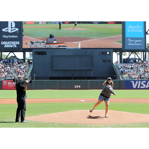 Photo of Giants Community Fund: 3/30/2017 Giants First Pitch Experience