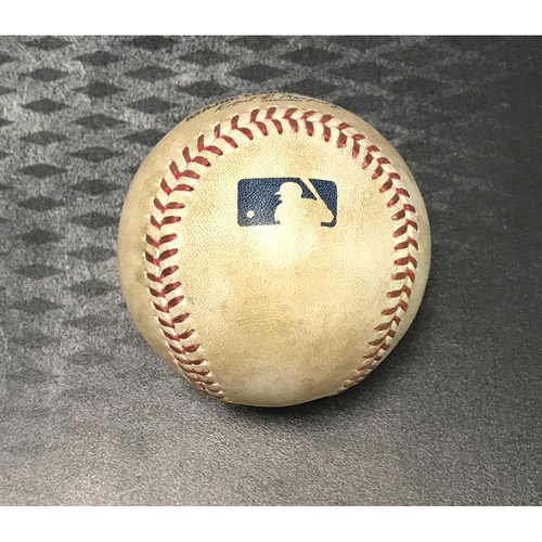 Photo of Game-Used Baseball - Ketel Marte 2-RBI Single vs. Brandon Morrow