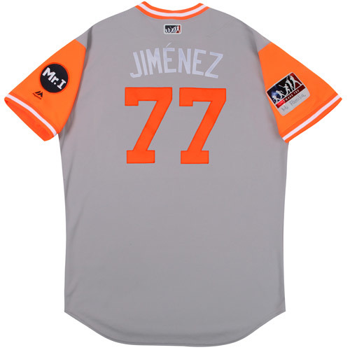 "Photo of Joe ""Jimenez"" Jimenez Detroit Tigers Game-Used Players Weekend Jersey"