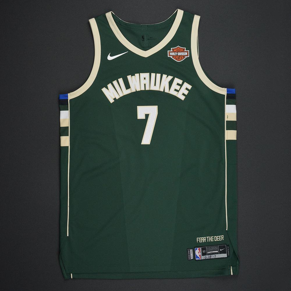 Thon Maker - Milwaukee Bucks - Kia NBA Tip-Off 2017 - Game-Worn Jersey