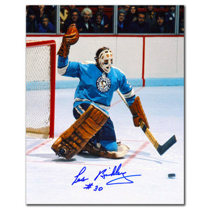 Les Binkley Pittsburgh Penguins Autographed 8x10