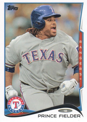 Photo of 2014 Topps #550A Prince Fielder