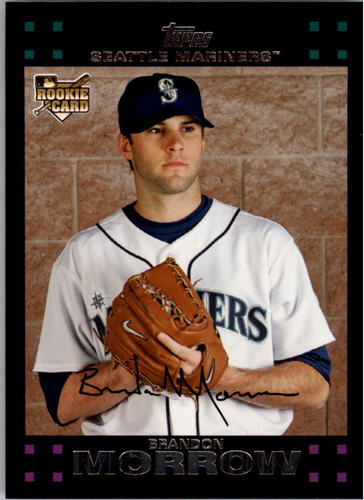 Photo of 2007 Topps #433 Brandon Morrow RC