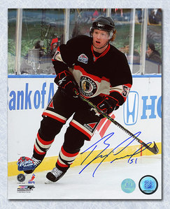 Brian Campbell Chicago Blackhawks Autographed 2009 Winter Classic 8x10 Photo