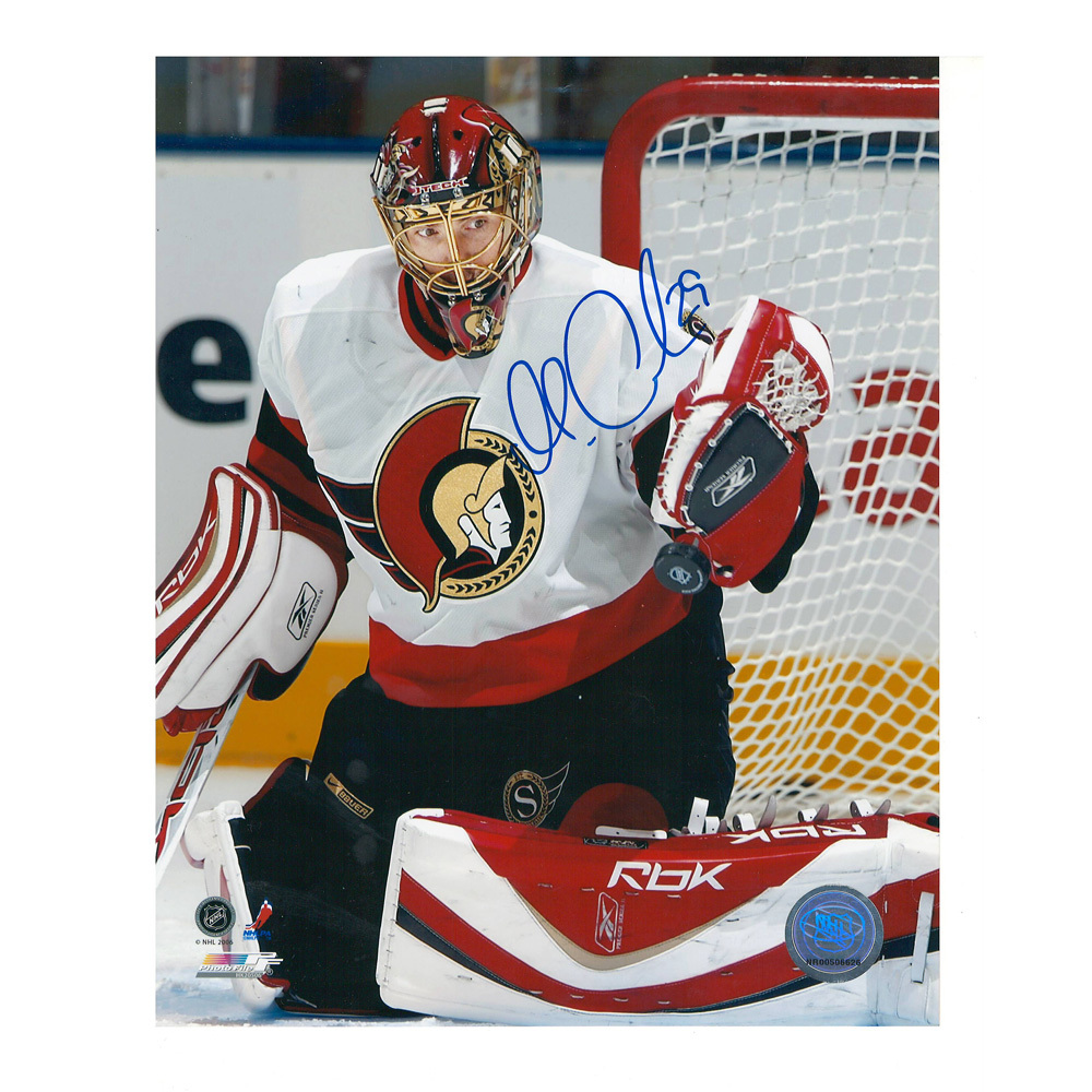 MARTIN GERBER Signed Ottawa Senators 8 X 10 Photo - 70396