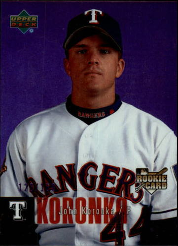 Photo of 2006 Upper Deck Special F/X Purple #961 John Koronka /150
