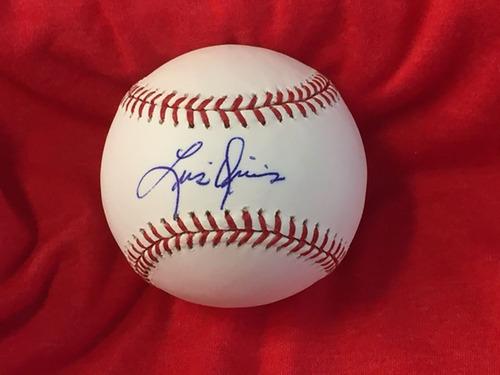 Luis Quinones Autographed Baseball