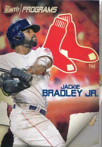 Photo of 2017 Topps Bunt Programs #PRJB Jackie Bradley Jr.