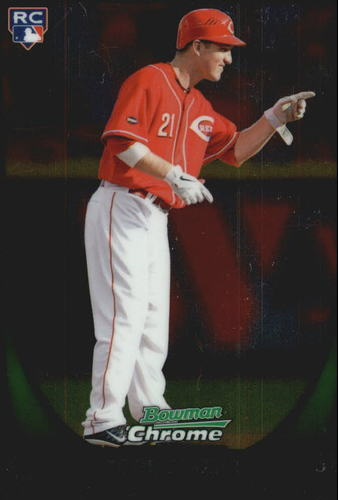 Photo of 2011 Bowman Chrome Draft #35 Todd Frazier Rookie Card -- Yankees post-season