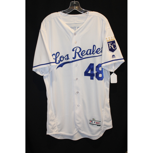 Photo of Game-Used Jersey: Joakim Soria (Size 46 - TOR at KC - 6/24/17)
