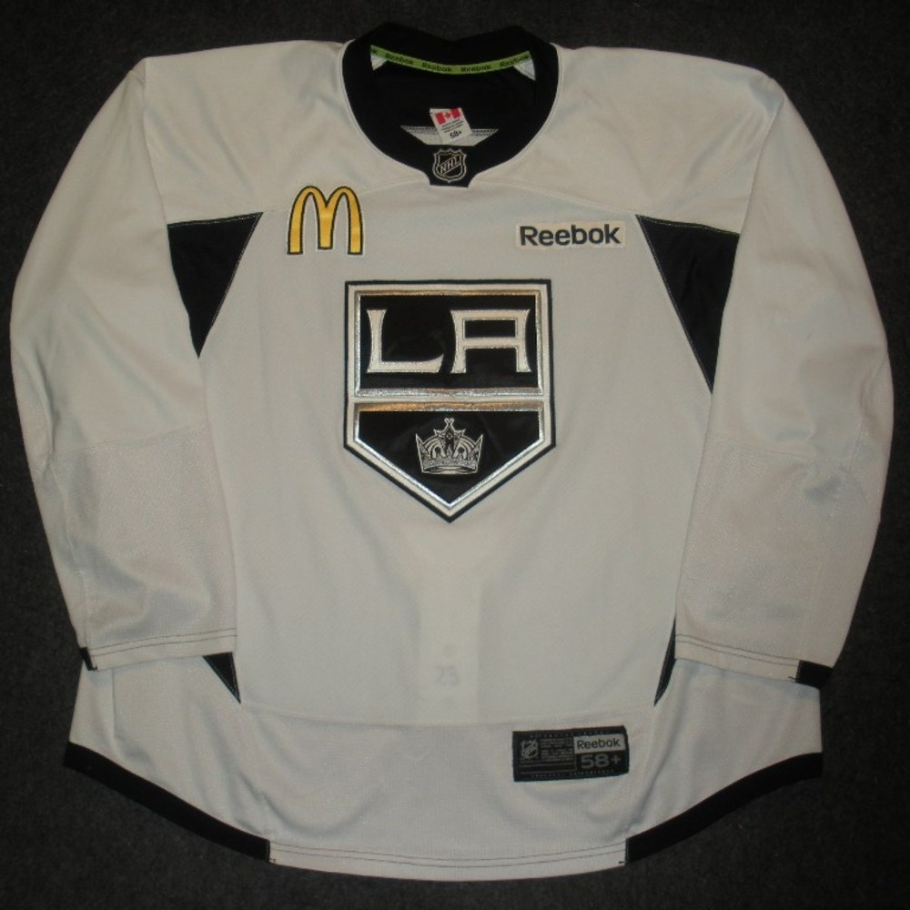 Dustin Brown - 2014 Stanley Cup Final - Los Angeles Kings - Practice-Worn Jersey