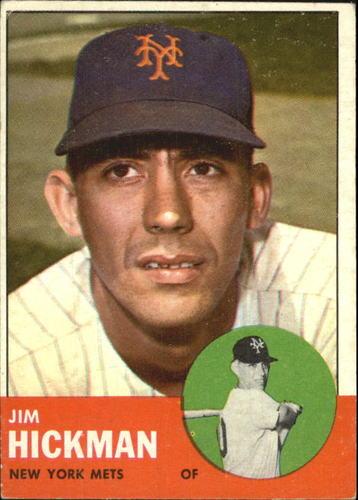 Photo of 1963 Topps #107 Jim Hickman