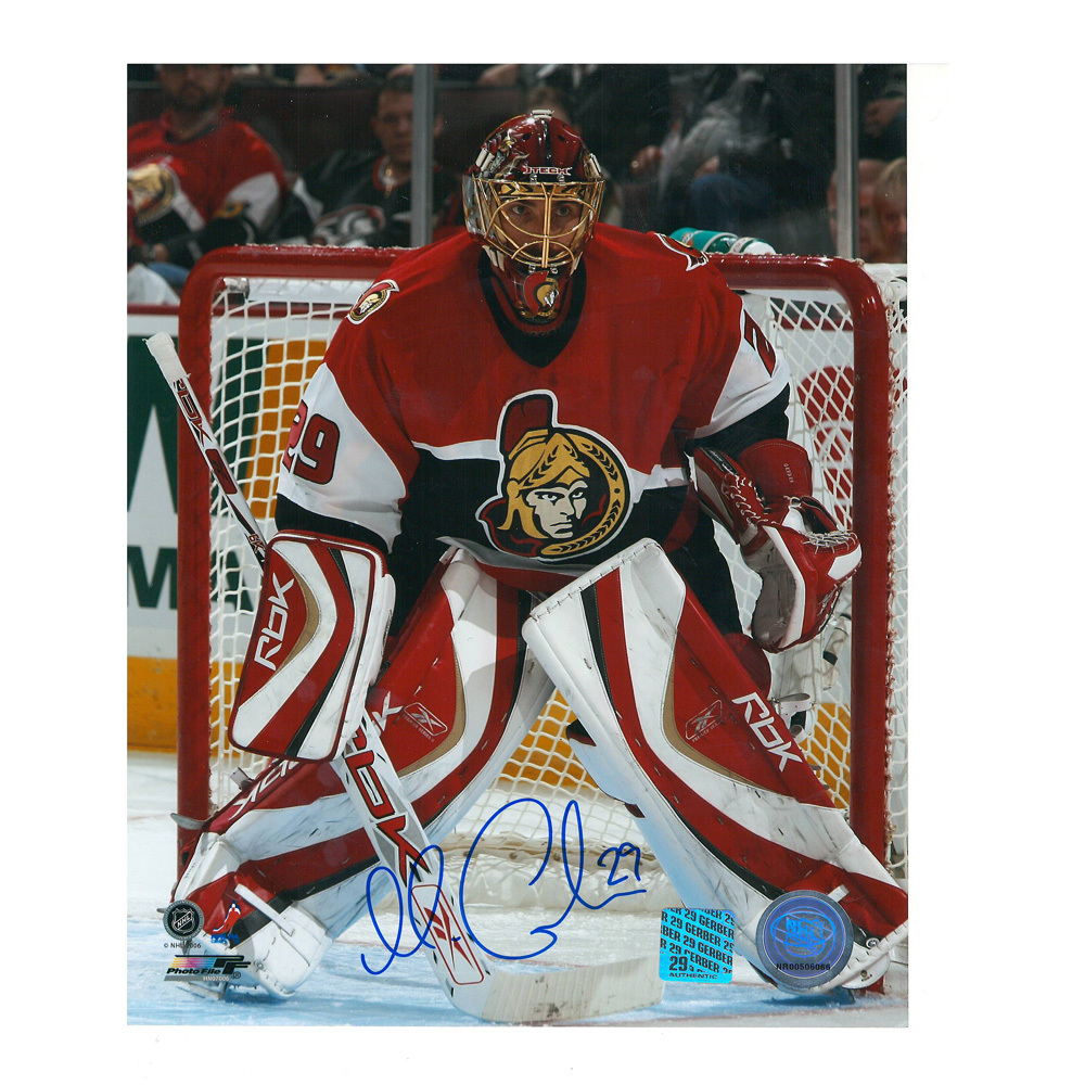 MARTIN GERBER Signed Ottawa Senators 8 X 10 Photo - 70397