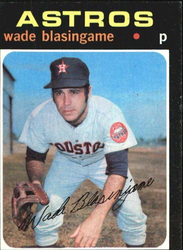 Photo of 1971 Topps #79 Wade Blasingame