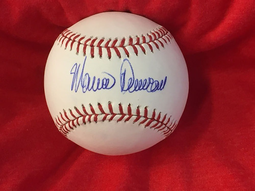 Mariano Duncan Autographed Baseball